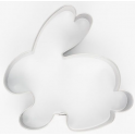 Cookie Cutter Crouching Bunny