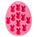 Wilton - Moule en silicone lapins, 12 cavités