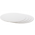 Cake board white,  36 cm diameter, 3 mm thick