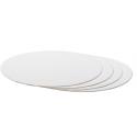 Cake board white,  36 cm diameter, 3 mm thick