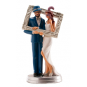 Dekora - Wedding cake topper couple frame