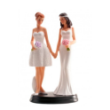 Dekora - Wedding cake topper couple of women