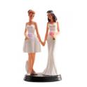 Dekora - Wedding cake topper couple of women