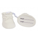 Culpitt - White Booties topper, 6.2 cm