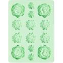Wilton - moule en silicone - Succulents/plantes grasses