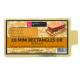 Cake Board rectangular Golden, 90 x 55 mm, 20 pieces