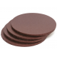 Cake Board brown, cm 30 diameter, 10 mm thick