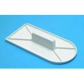 PME - Straight Edge Fondant Smoother, 15,5 x 7,8 cm