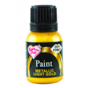 RD - Metallic Food Paint  Golden light   25ml