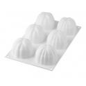 Silikomart - Silicon mould Bloom 120, 6x Ø 68 h 52 mm