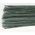 Culpitt - Green floral wire, 30 gauge (0.32mm), 50 pieces