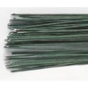Culpitt - Tiges vertes pour fleurs env. 36 cm, calibre 30 (0.32mm), 50 pièces