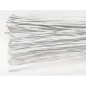 Culpitt - White floral wire, 30 gauge, 50 pieces