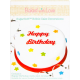 Baked with Love - Edible Happy Birthday Cake Decoration