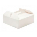 Cake box with handle, 23 x 23 x 10 cm