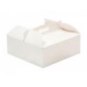 Cake box with handle, 23 x 23 x 10 cm