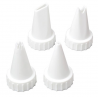 Wilton - Tip set for Icing tube, 4 pieces