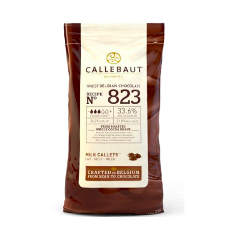 Callebaut -Milk chocolate drops, 1 kg