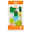 Decora Décorations en sucre cactus, 6 pièces
