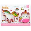 Decora - Cookie Cutter Unicorn, 2 pieces