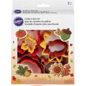 Wilton - Cookie Cutter Autumn, 7 pieces