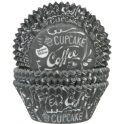 Baking Cups Chalkboard, 50 pieces