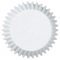 Wilton Cupcake Liners Baking Cups JUMBO White. 75 pieces