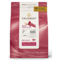 Callebaut - Ruby chocolate drops, 2.5 kg