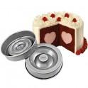 Wilton - Moule à gâteau avec coeur au centre
