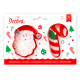 Decora - Cookie Cutter Santa & candy cane, 2 pieces