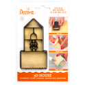 Decora - Emporte-pièce petite maison 3D