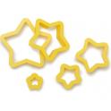 Decora - Star cookie cutter, 5 pieces