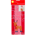 Wilton -  Reindeer treat bags, 20 pieces