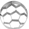 Cookie cutter soccer ball,  approx. 6 cm
