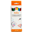 Decora - Food Pens, 6 Colors set