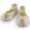 PME Edible Cake Topper baby bootee perle, one pair