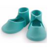 PME Edible Cake Topper baby bootee blue, one pair