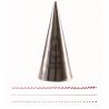 Douille en acier inoxydable PME 00 (ronde)