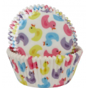 Baking Cups Bath ducks, 50 pieces