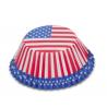 Caissettes à cupcakes USA, 50 pièces