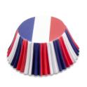 Caissettes à cupcakes France, 50 pièces
