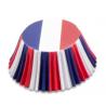 Cupcake Backförmchen Frankreich, 50 Stück