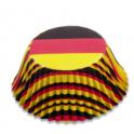 Caissettes à cupcakes Allemagne, 50 pièces