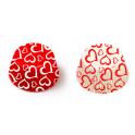 Cupcake Backförmchen rote Herzen love, 36 Stück