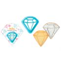 Ausstechform Diamant, circa 6 cm