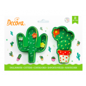 Decora - Cookie Cutter Cactus, 2 pieces