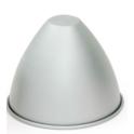 Decora - Cake Pan Dome, Ø 185 x 51 x H 148 mm