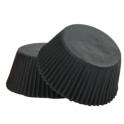 Backförmchen Microgrösse schwarz, 200 pieces