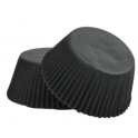 Baking Cups Micro size black, 200 pieces