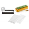 Silikomart - Tarte Ring rectangular kit, 120 x 35 mm